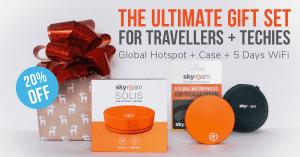 20% Off Skyroam Solis Holiday Gift Set