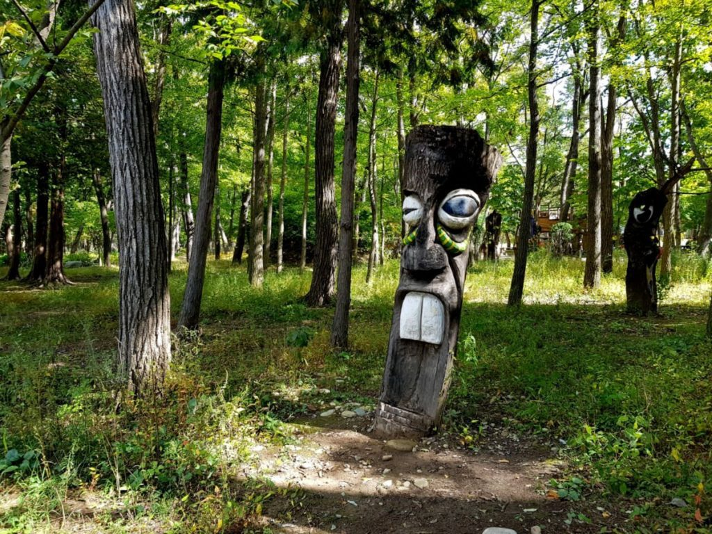 Sculptures on Nami Island